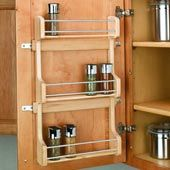 Shop Cabinet Door Storage