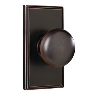 Weslock 3700I Impresa Passage Door Knob Set with Woodward Rosette