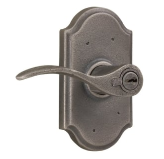 Weslock 7140H-LH Carlow Left Handed Single Cylinder Keyed Entry Door Lever Set with Premiere Rosettes