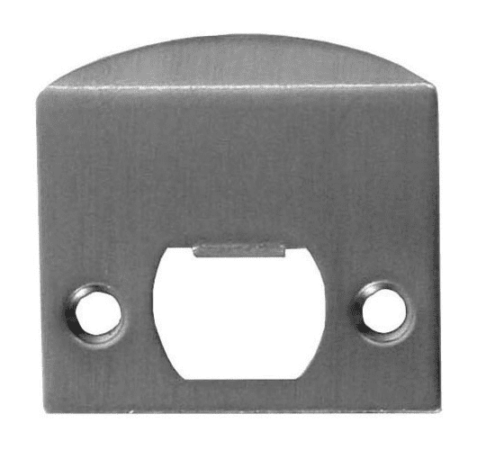 Emtek 86086 Strike Plate Pewter Door Accessories Part