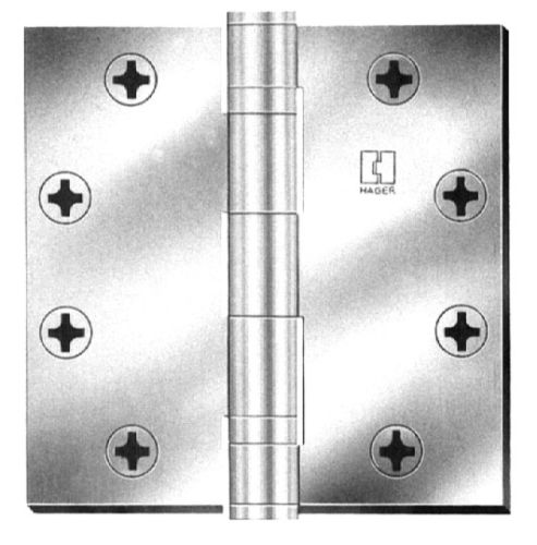 Hager Bb12794 Hinges Satin Chrome Bb1279 Accessory 4 X 4