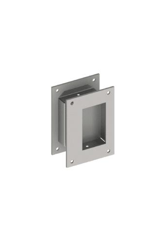 Hager 25c Flush Pull Satin Stainless Pulls Pocket Door