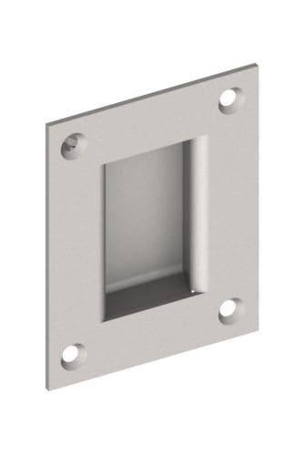 Hager 26n Flush Pull Satin Brass Pulls Pocket Door Lock