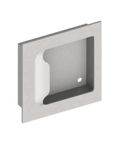Hager 27n Flush Pull Satin Stainless Pulls Pocket Door Lock