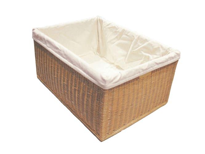 Rev-A-Shelf 4WB-1723-52 Rattan Baskets 4WB Series 17.5 Wide Rattan Basket with Cloth Liner