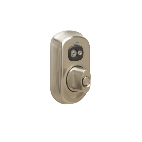 Schlage Be367 Ply Keyed Entry Satin Nickel Electronic