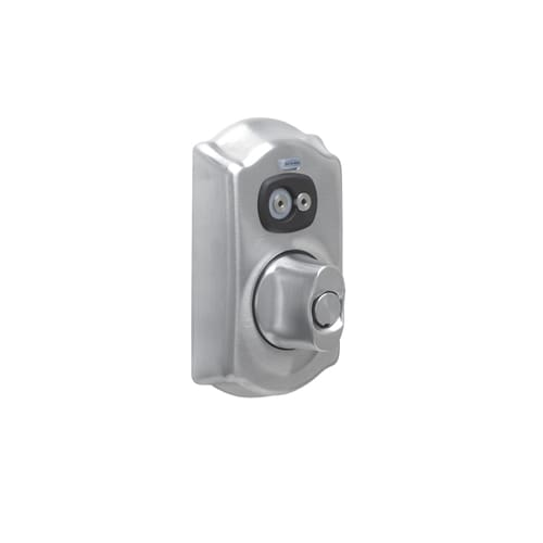 Schlage Be367 Cam Keyed Entry Satin Chrome Electronic