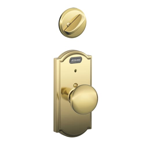 Weiser Lock Gac12b3 Polished Brass Single Dummy Beverly