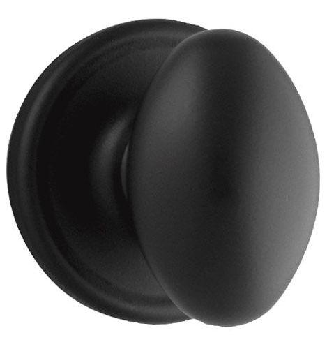 Weiser Lock Ga331l Privacy Iron Black Laurel Knobset