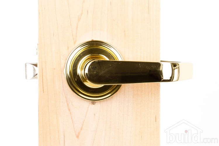 Weslock 610a Privacy Polished Brass Access Leverset