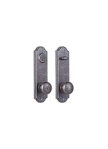 Weslock 7651 Rh Keyed Entry Weathered Pewter Tramore