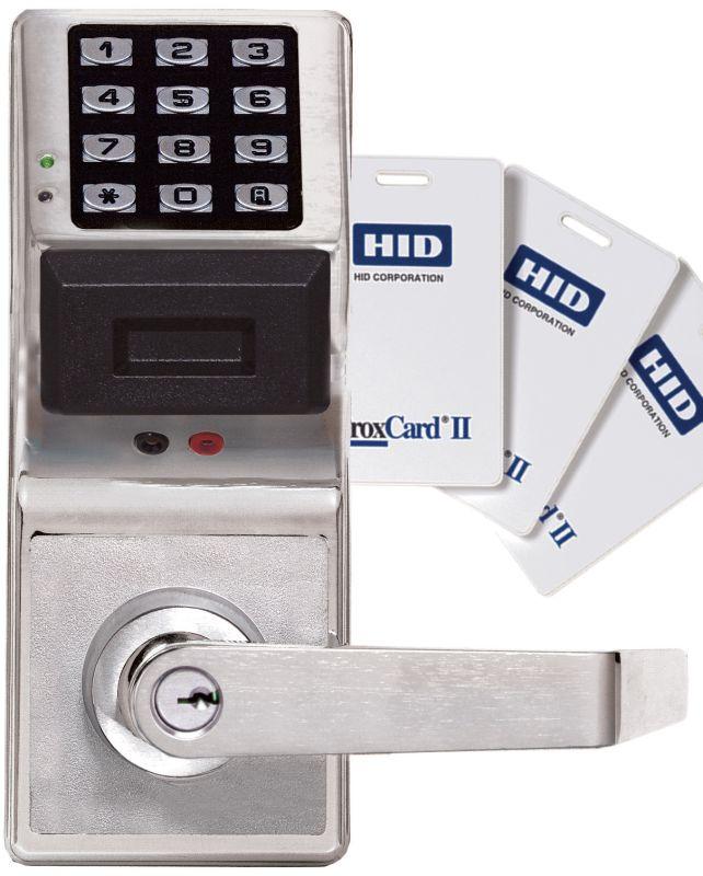 alarm lock pdl3000k 26d satin chrome trilogy t3 2000 user digital proximity keypad lock single. Black Bedroom Furniture Sets. Home Design Ideas