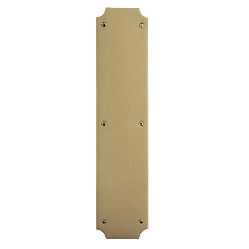 Baldwin 2275030 Polished Brass 3 1 2 Inch X 15 Inch Solid