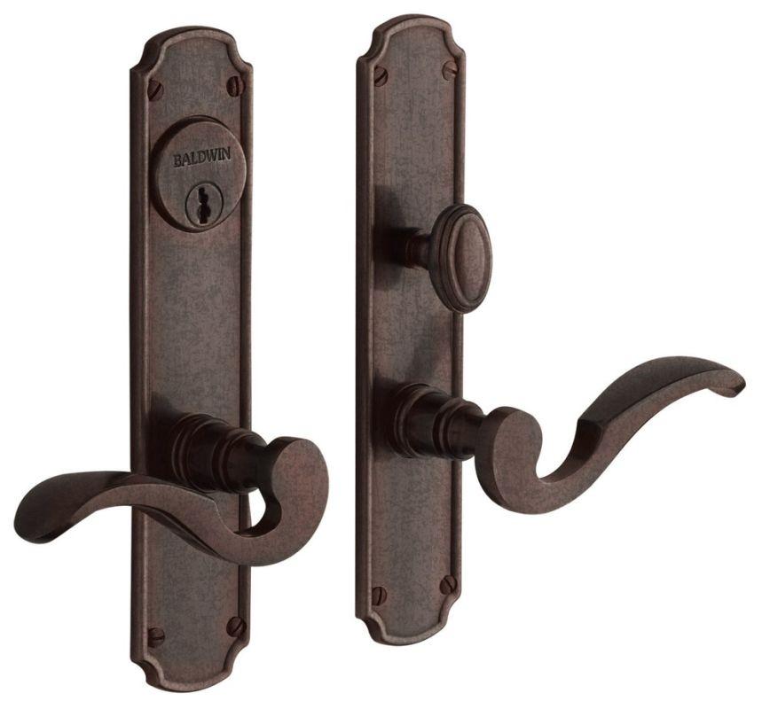 Baldwin 6942412dblc Distressed Venetian Bronze Bismark