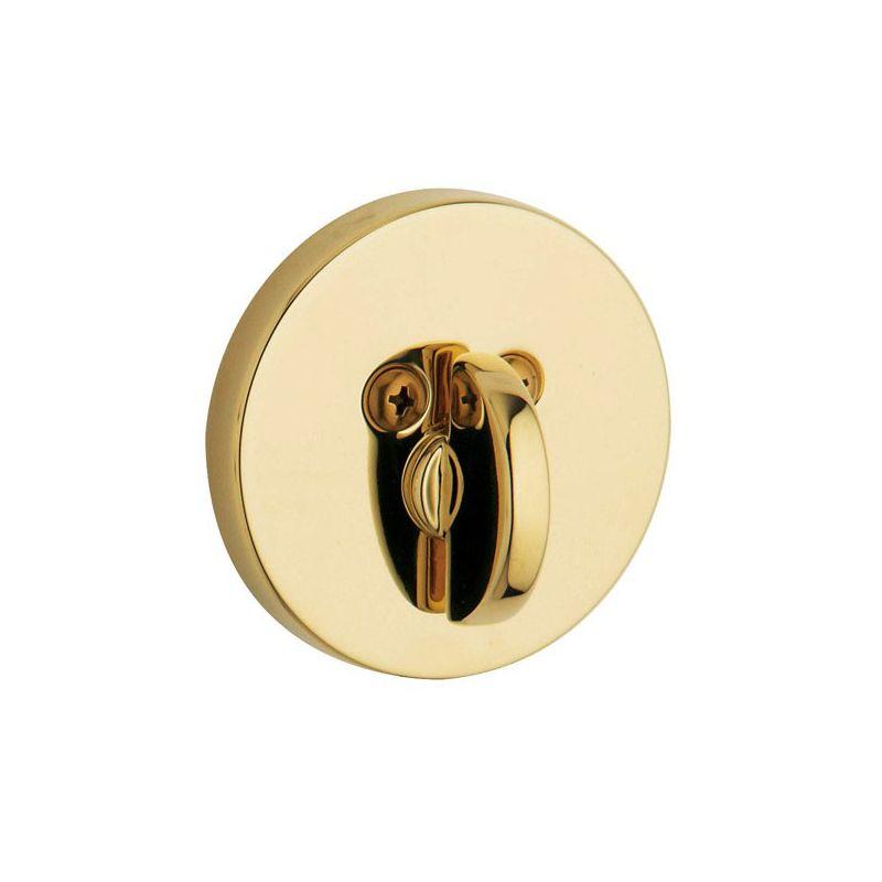 Baldwin 8241003pat Lifetime Polished Brass Contemporary