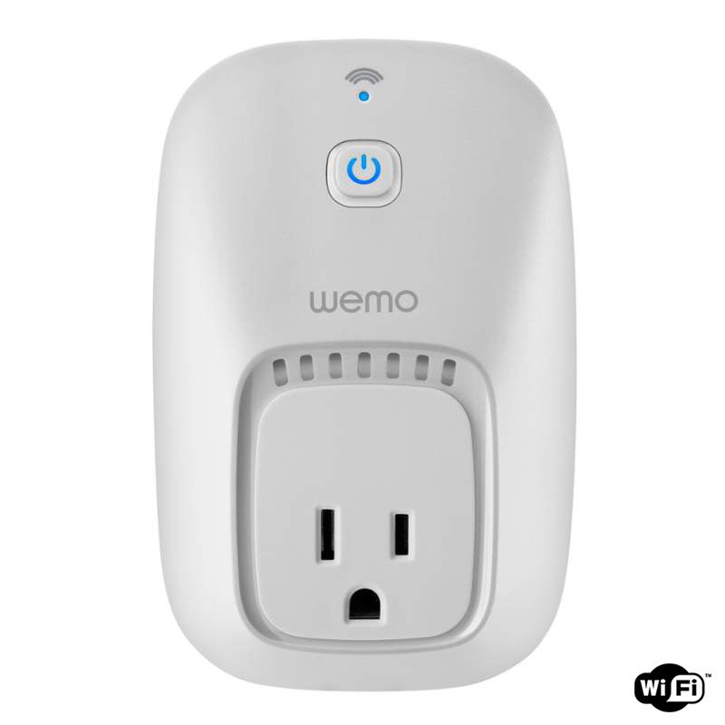 Belkin F7c027fc Wemo Switch Smart Home Appliance Module With Wi-Fi Capability
