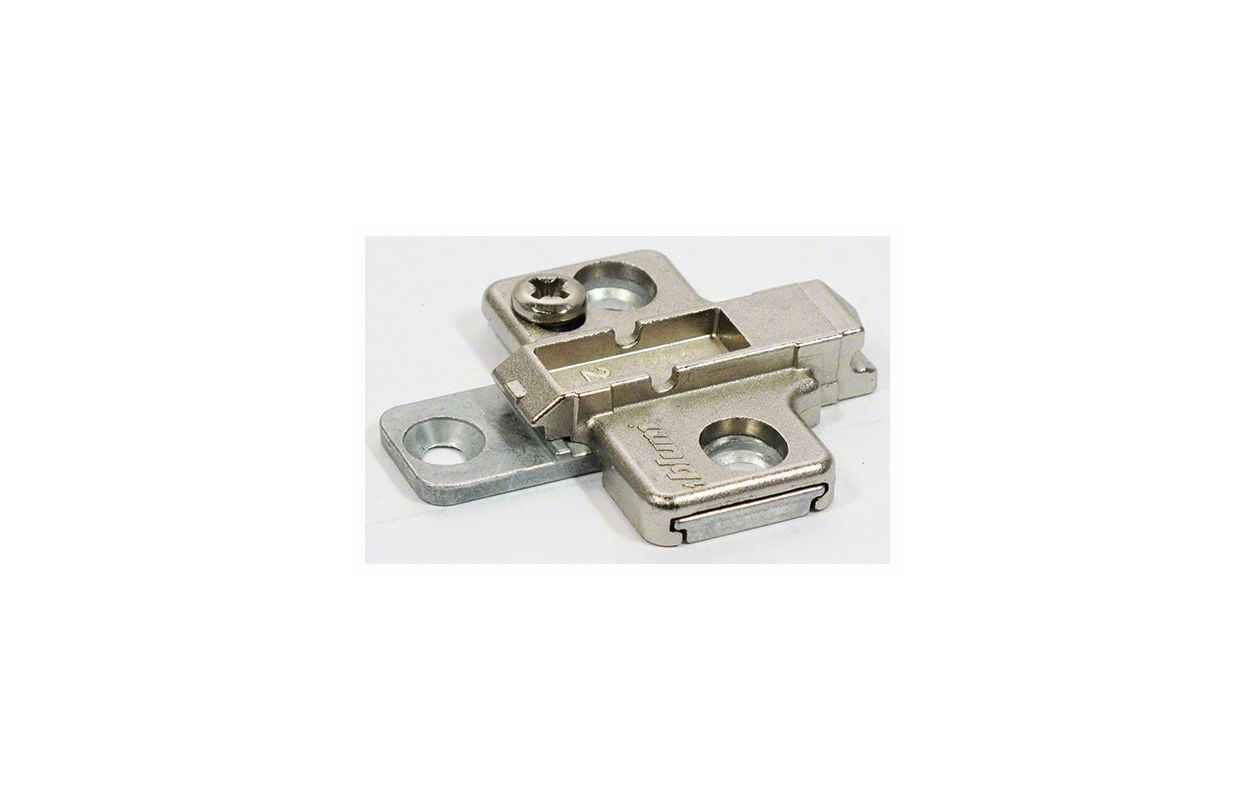 Blum 175h9100 Nickel Clip Top Two Piece Wing Mounting