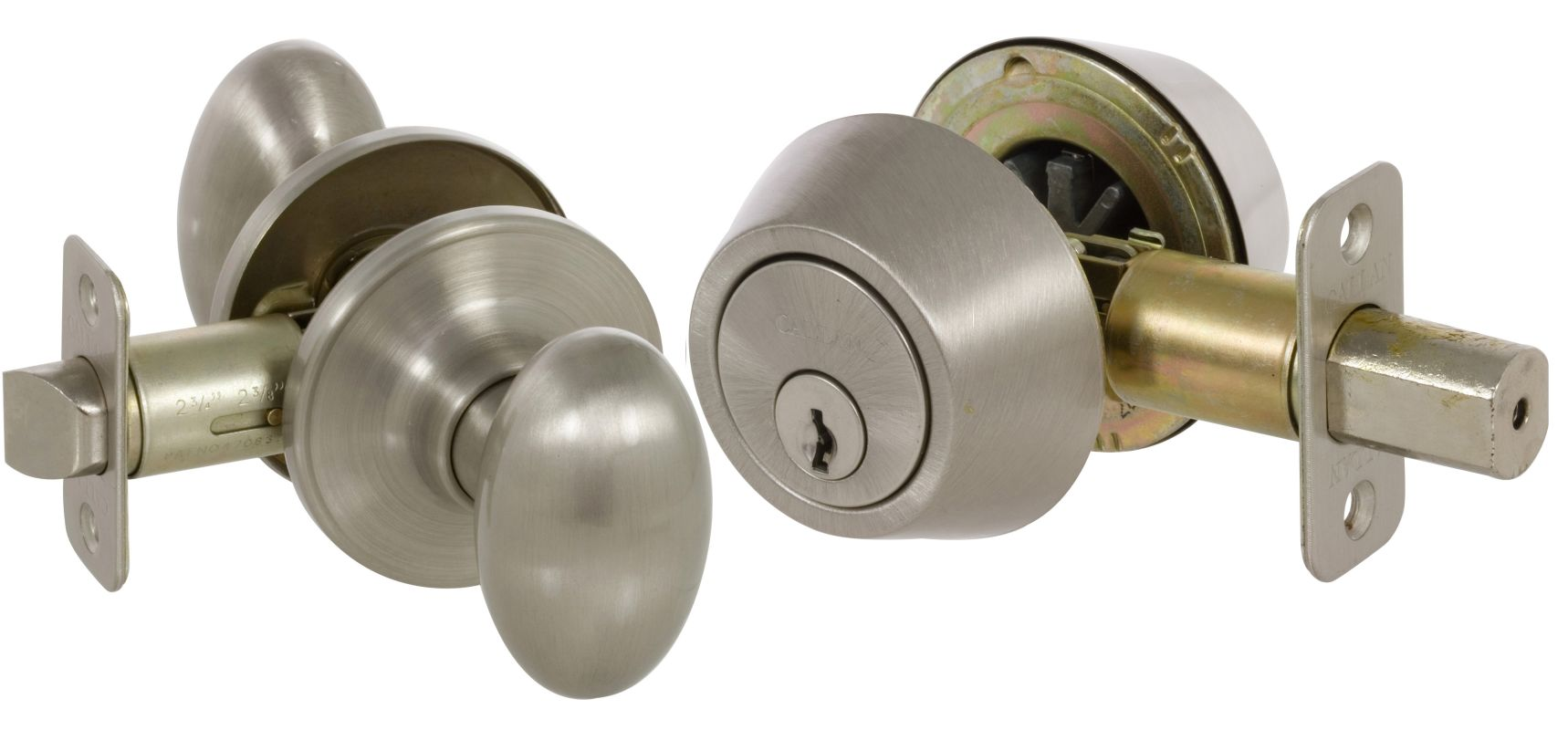 Callan Ke3001 Satin Nickel Camden Series Grade 3 Keyed