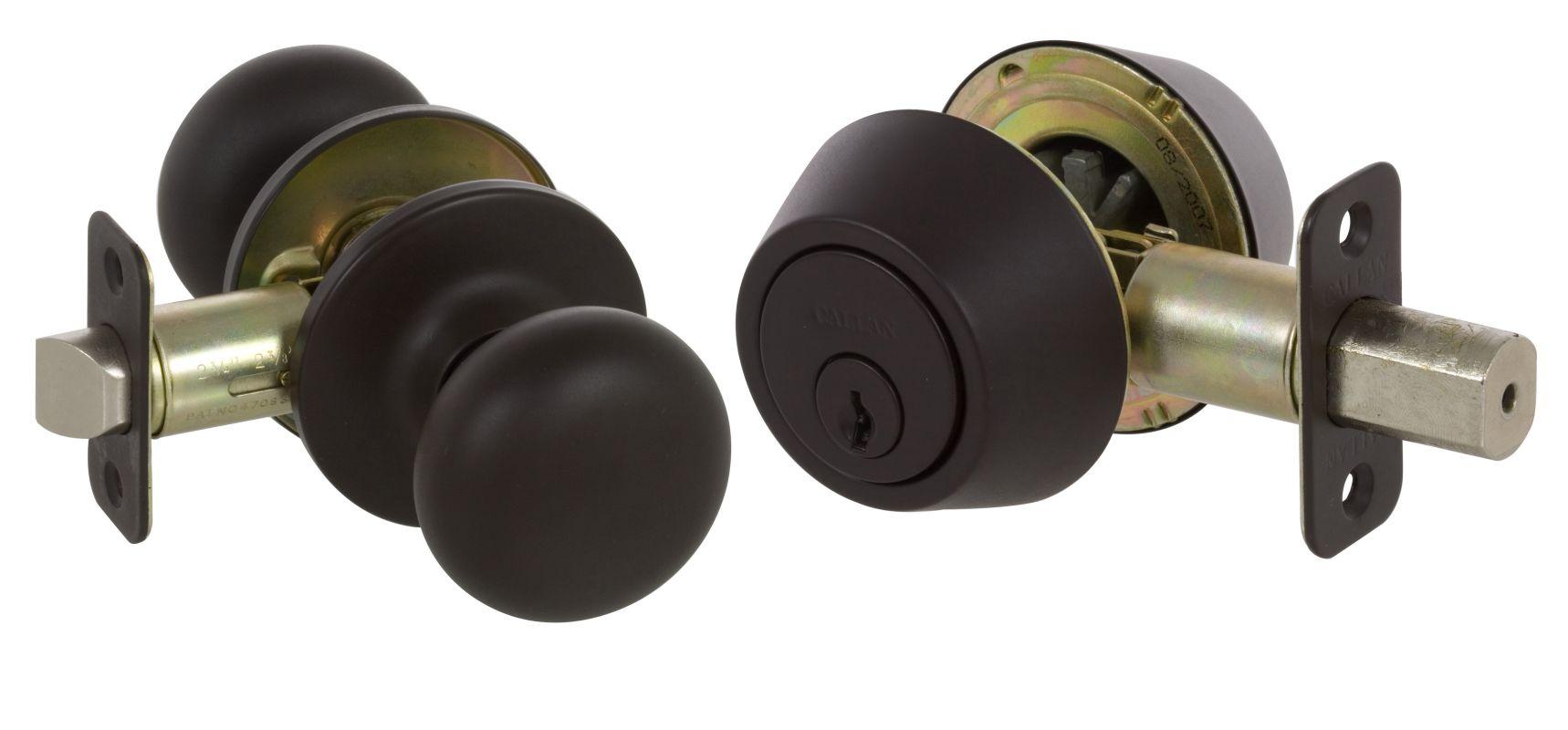 Callan Ks3000 Oil Rubbed Bronze Saxon Series Grade 3 Keyed