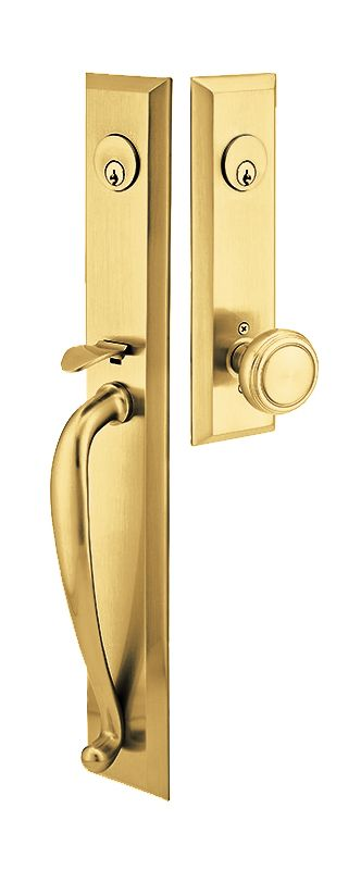 Emtek 4425pvd Lifetime Polished Brass Jefferson Series