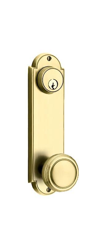 Emtek 8996us3 Polished Brass Delaware Series Single