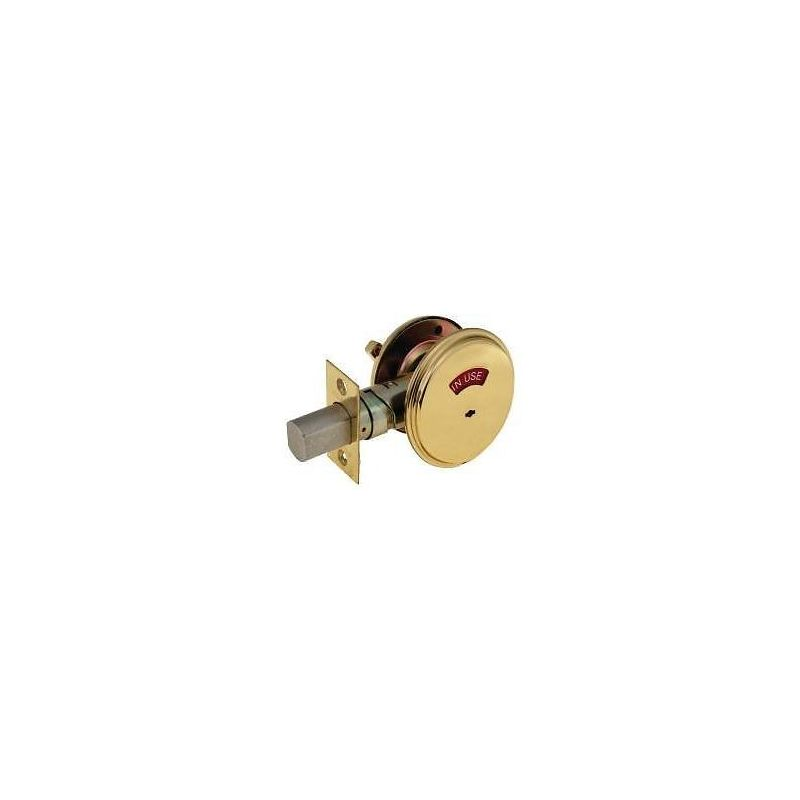 Falcon D271605 Bright Brass Indicator Deadbolt