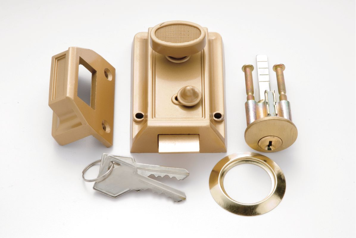 First Watch 1105 Pb Polished Brass Single Cylinder Spring