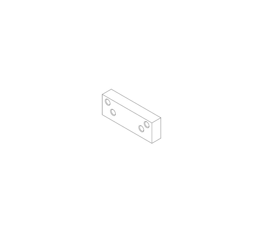Hager 5913 Alm Aluminum Extension For Door Closers From
