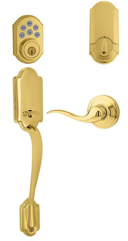 Kwikset 815anxtnl Rh 909 L03 Lifetime Polished Brass