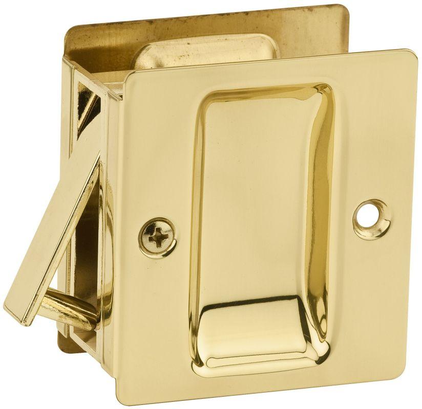Kwikset 332 Rectangular Passage Pocket Door Lock