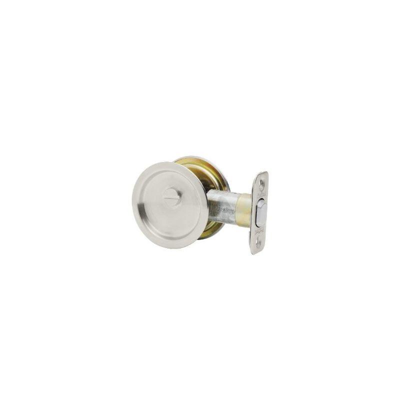 Kwikset 334 Round Passage Hall/Closet Pocket Door Lock