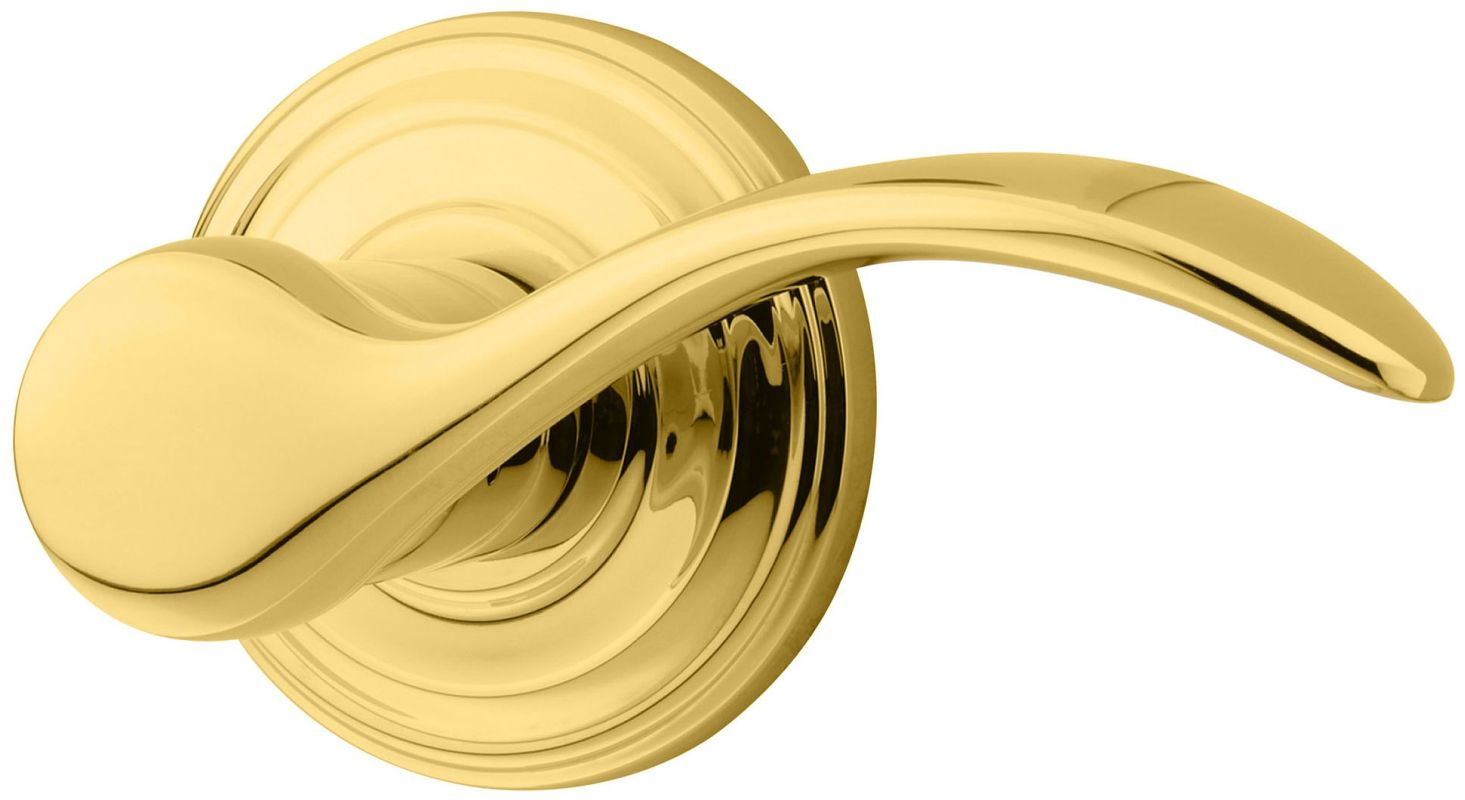 Kwikset 720pml 3 Polished Brass Signature Series Pembroke