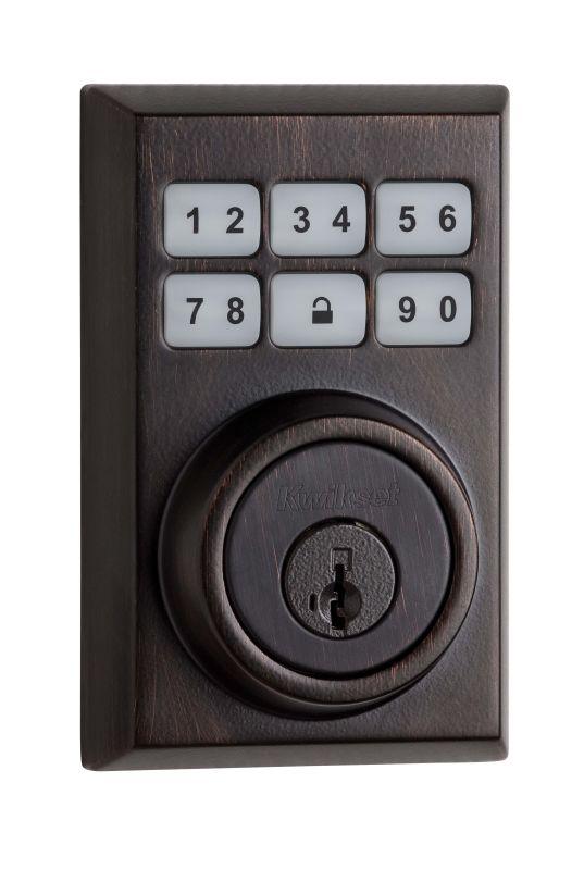 Kwikset 909cnt 11ps Venetian Bronze Smartcode Contemporary
