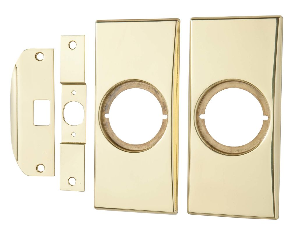 Kwikset Cp215 3 Polished Brass Small Modernization Kit