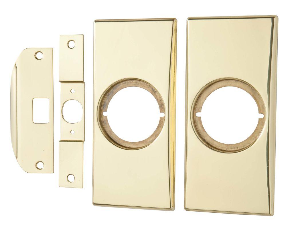 Kwikset Cp215 3 Polished Brass Small Modernization Kit