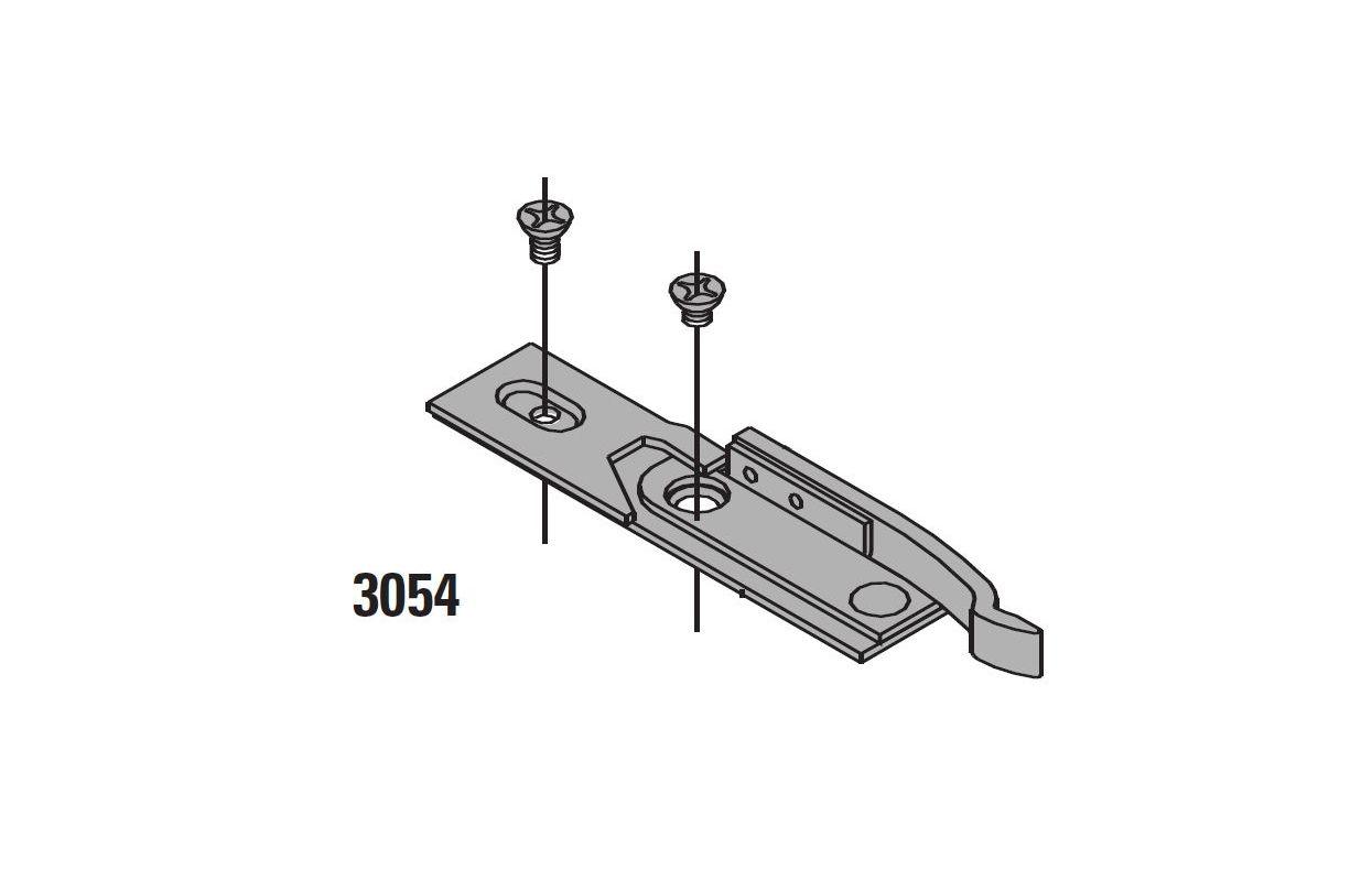 Lcn 31303054 Aluminum Hold Open Spring Clip For 3130