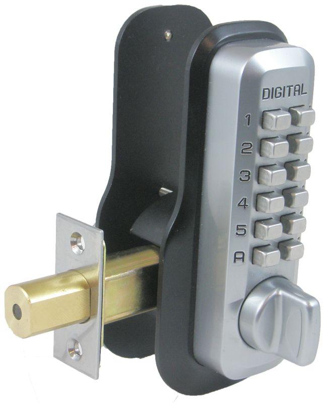 Lockey M210scez Satin Chrome Adjustable Mechanical