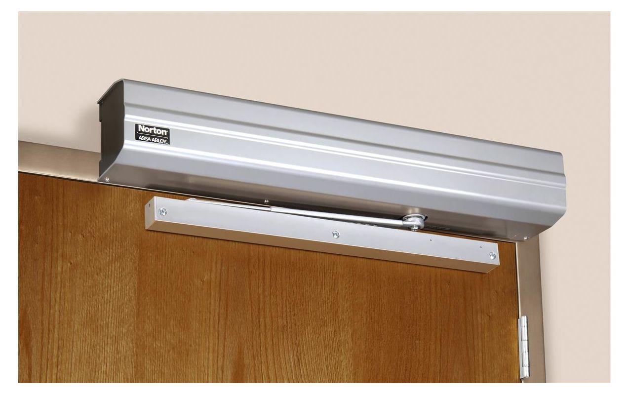 Norton 5710689 aluminum ada compliant non handed for 180 degree door swing