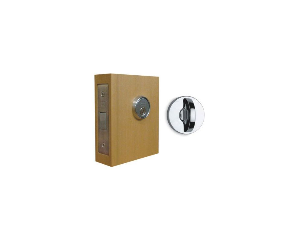 Omnia 041 M N Us26d Satin Chrome Modern Mortise Deadbolt