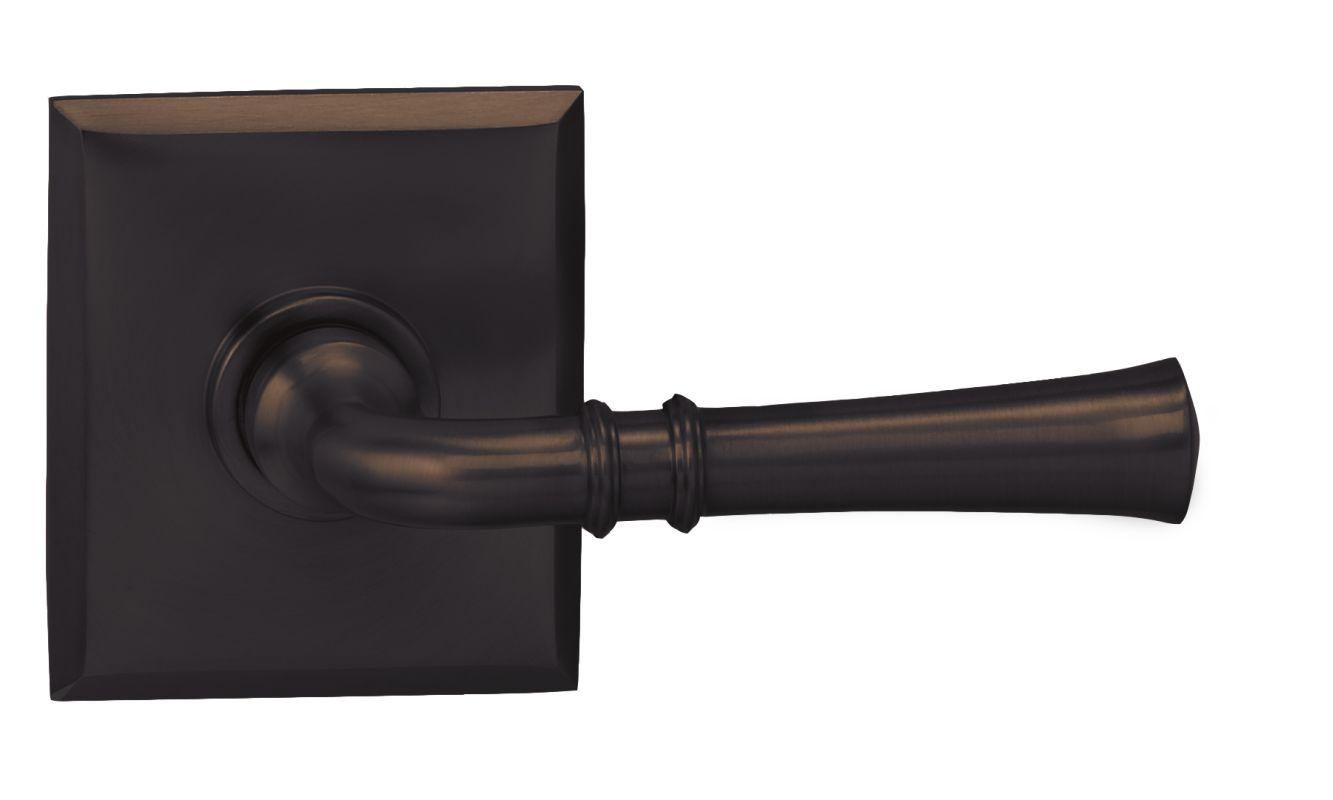 Omnia 785rt Tb Sd Tuscan Bronze Single Dummy Door Lever