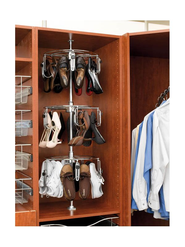 ... Women's Lazy Shoe-Zen Organizer with Closet Shaft - Handlesets.com