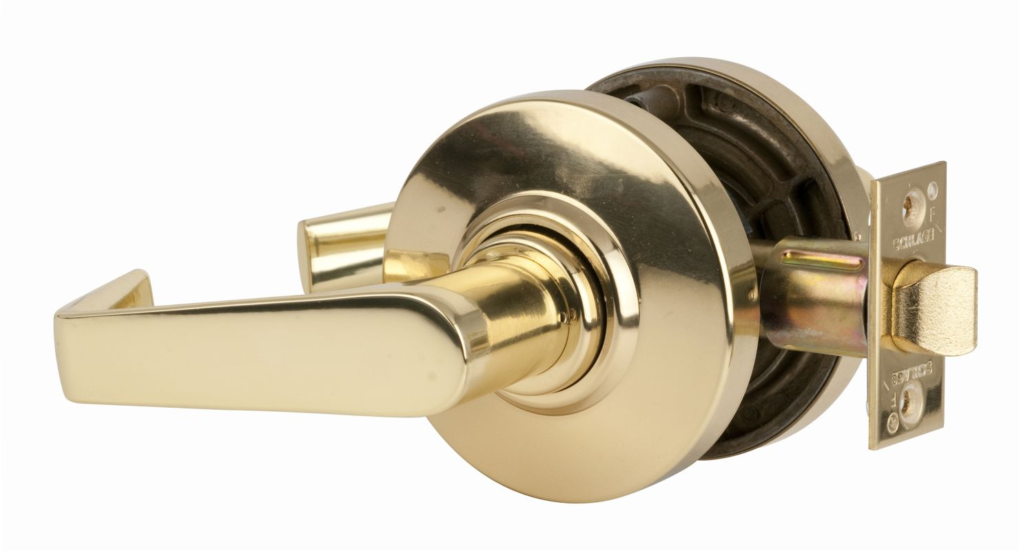 Schlage ND82BDRHO626 Satin Chrome Keyed Door Lever - Build.com