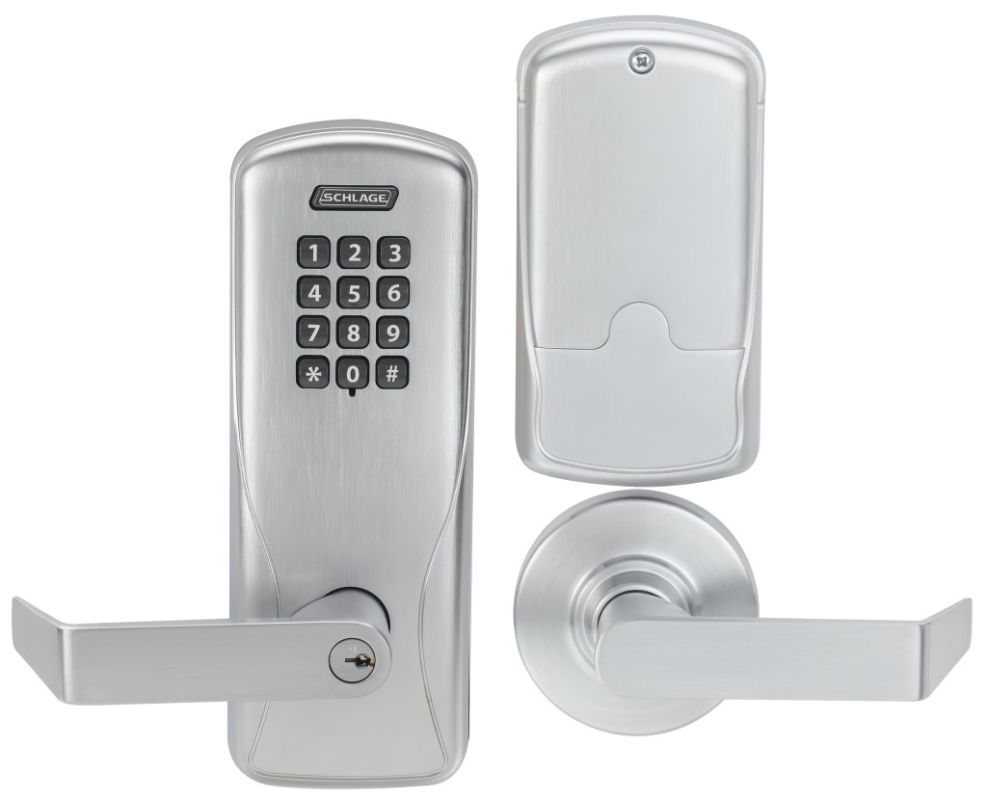 Schlage Co100ms70kprho626 Satin Chrome Co Series