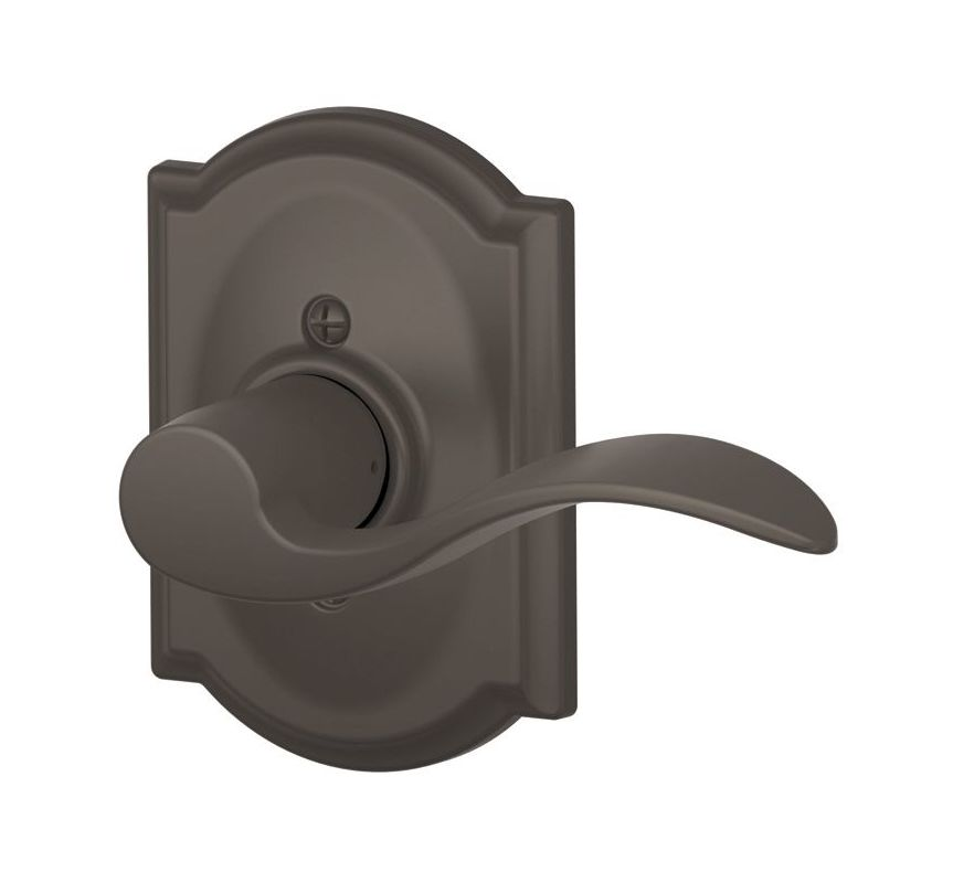 Schlage F170acc613camrh Oil Rubbed Bronze Single Dummy