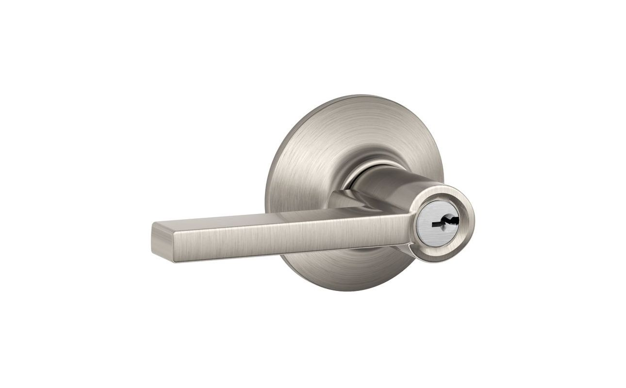 Schlage F51alat619 Satin Nickel Latitude Keyed Entry F51a