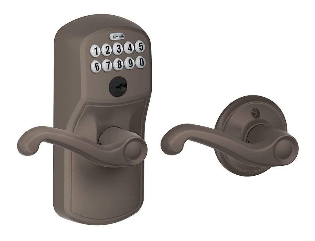Schlage Fe575ply613fla Oil Rubbed Bronze Plymouth Keypad