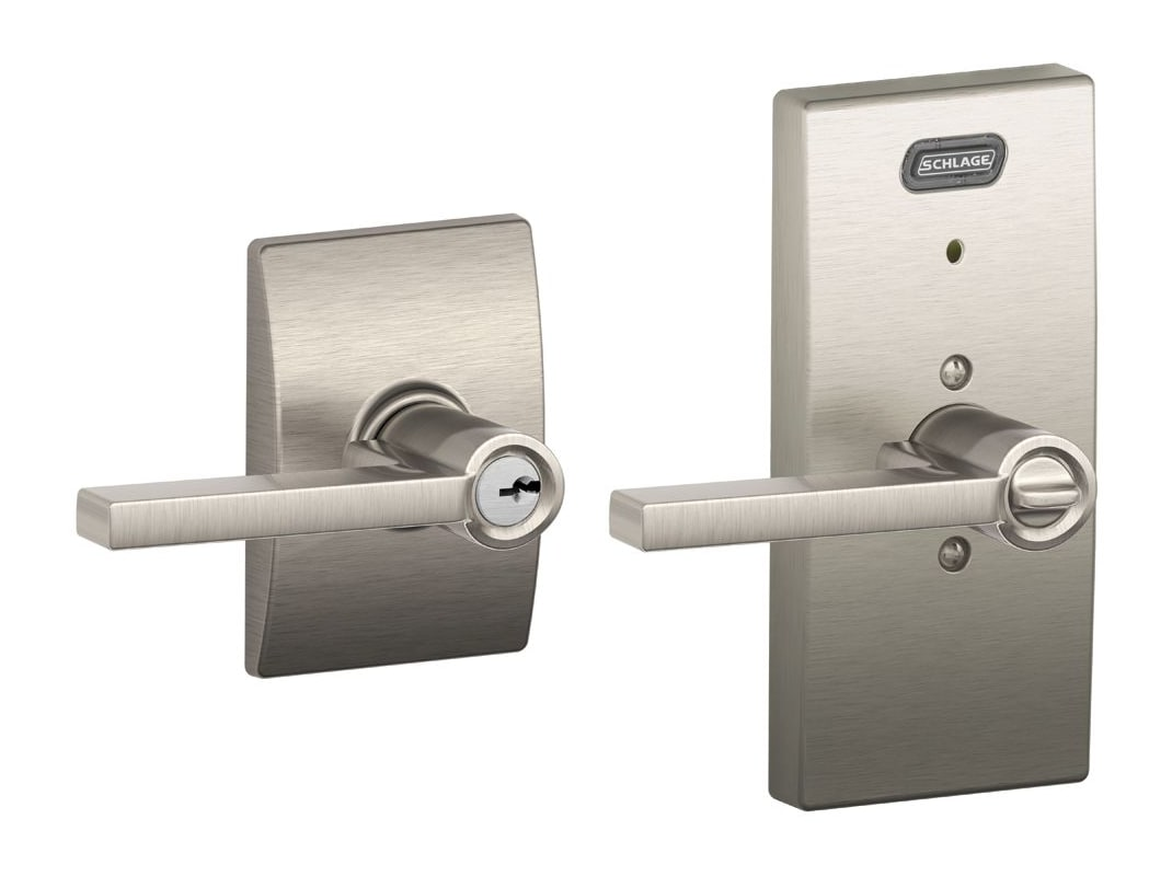 Schlage Fe51lat625cen Polished Chrome Century Single