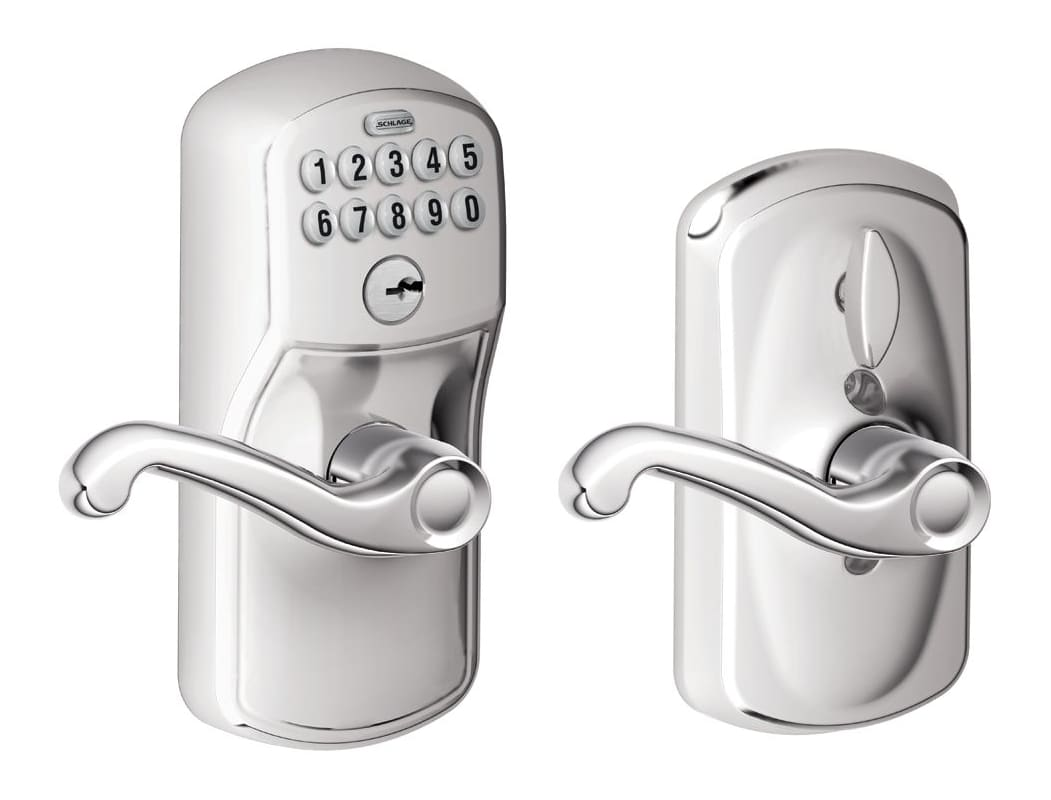 Schlage Fe595ply716fla Aged Bronze Flex Lock Keypad Entry