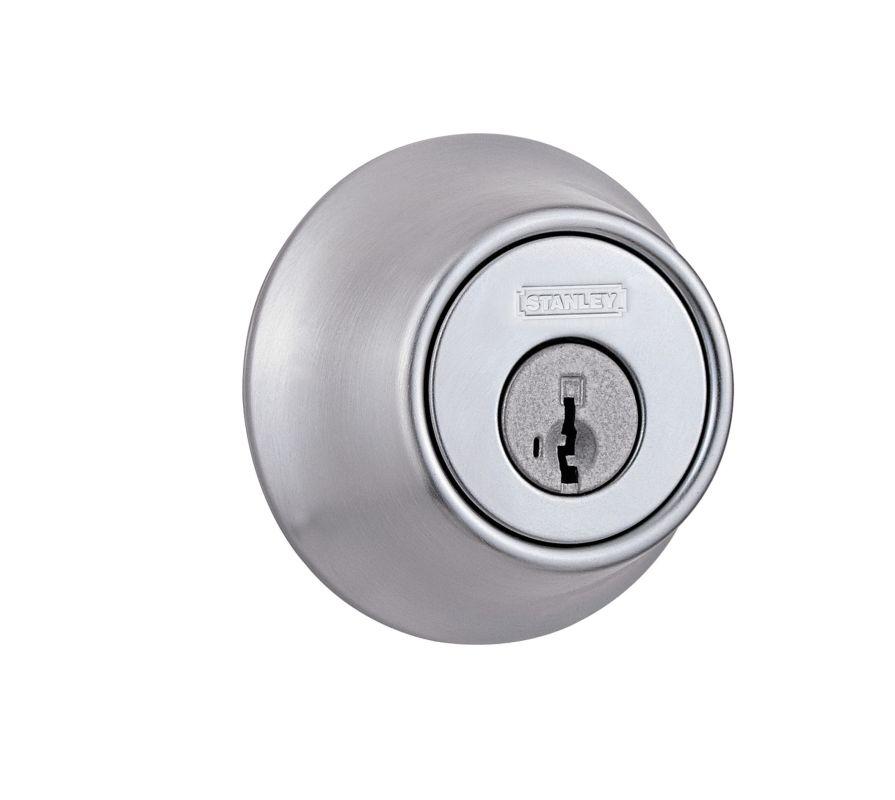 Stanley 285626s Satin Chrome Light Commercial Keyed Entry