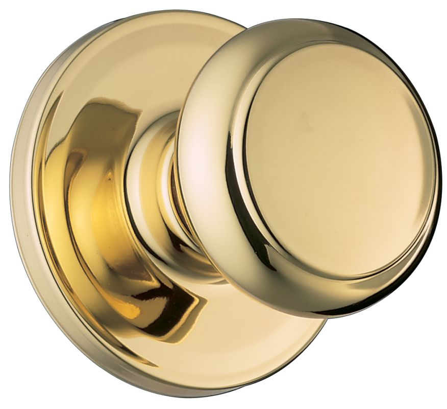 Weiser Lock Ga101t3 Polished Brass Troy Passage Door Knob